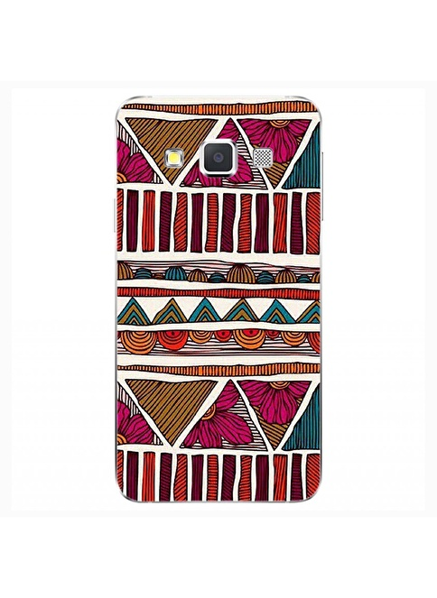 People's Cover Samsung A3 Kabartmalı Kapak Renkli